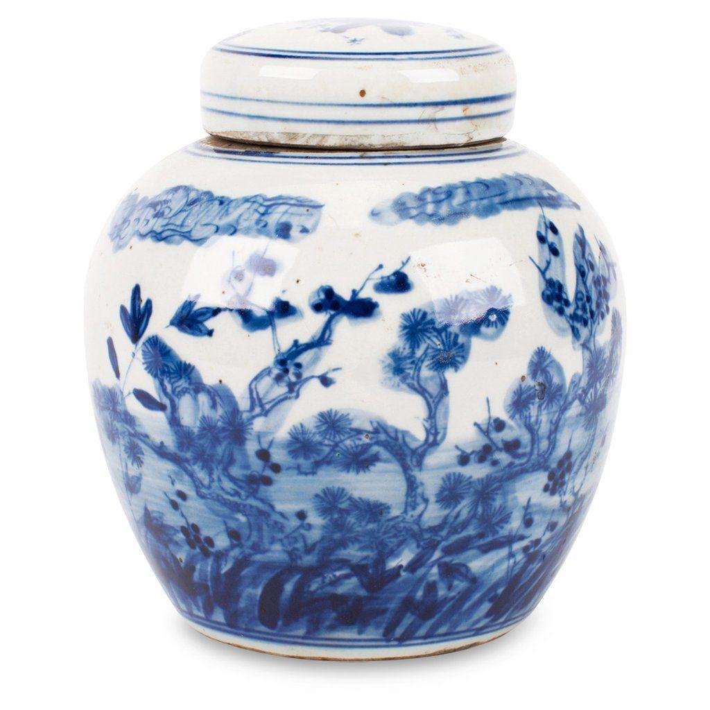 Landscape Ginger Jar $60 | Furbish