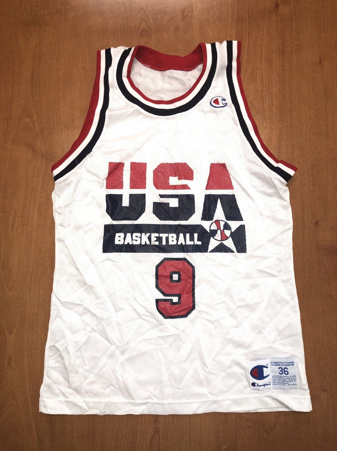 michael jordan usa jersey for sale