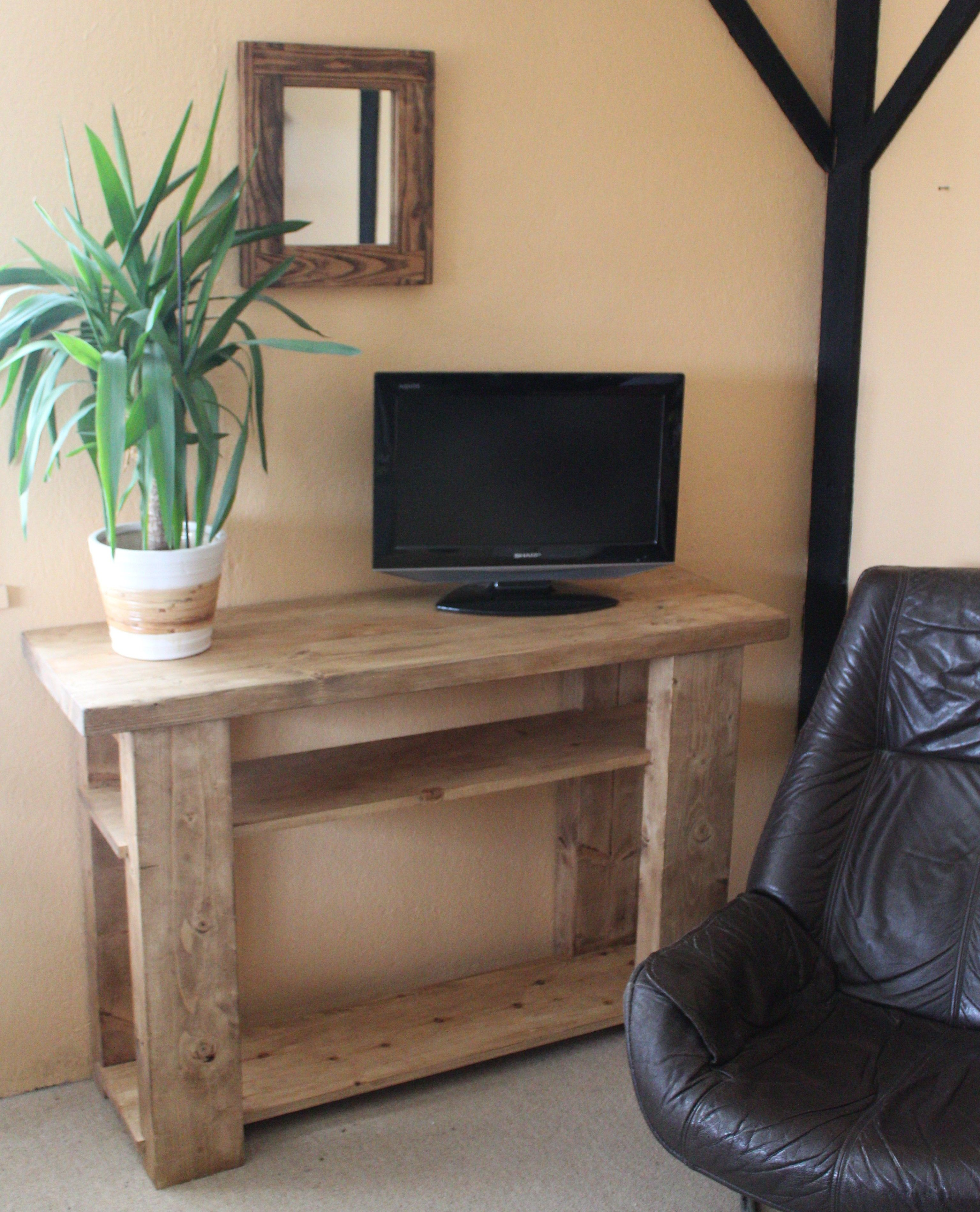best loved 6d7c8 19361 handmade available on Etsy UK #rustic #TV #stand in #eco ...