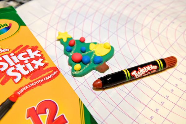 Toddler DIY Project: Crayola Model Magic Christmas ...