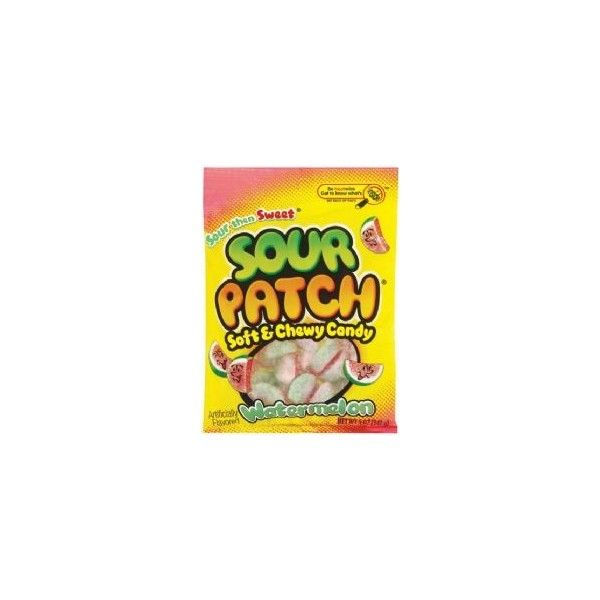 American Sour Patch Kids Watermelon Candy 2 85 Liked On Polyvore Featuring Food Candy And Food And Drink Sour Patch Kids Sour Patch Watermelon Sour Patch