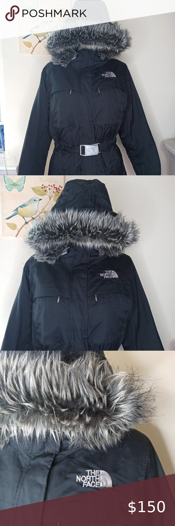 The North Face Greenland Hyvent Jacket Coat Fur The North Face Greenland Hyvent Faux Fur Trim Hood Black Jacket With B Coats Jackets Zipper Hood The North Face [ 1740 x 580 Pixel ]