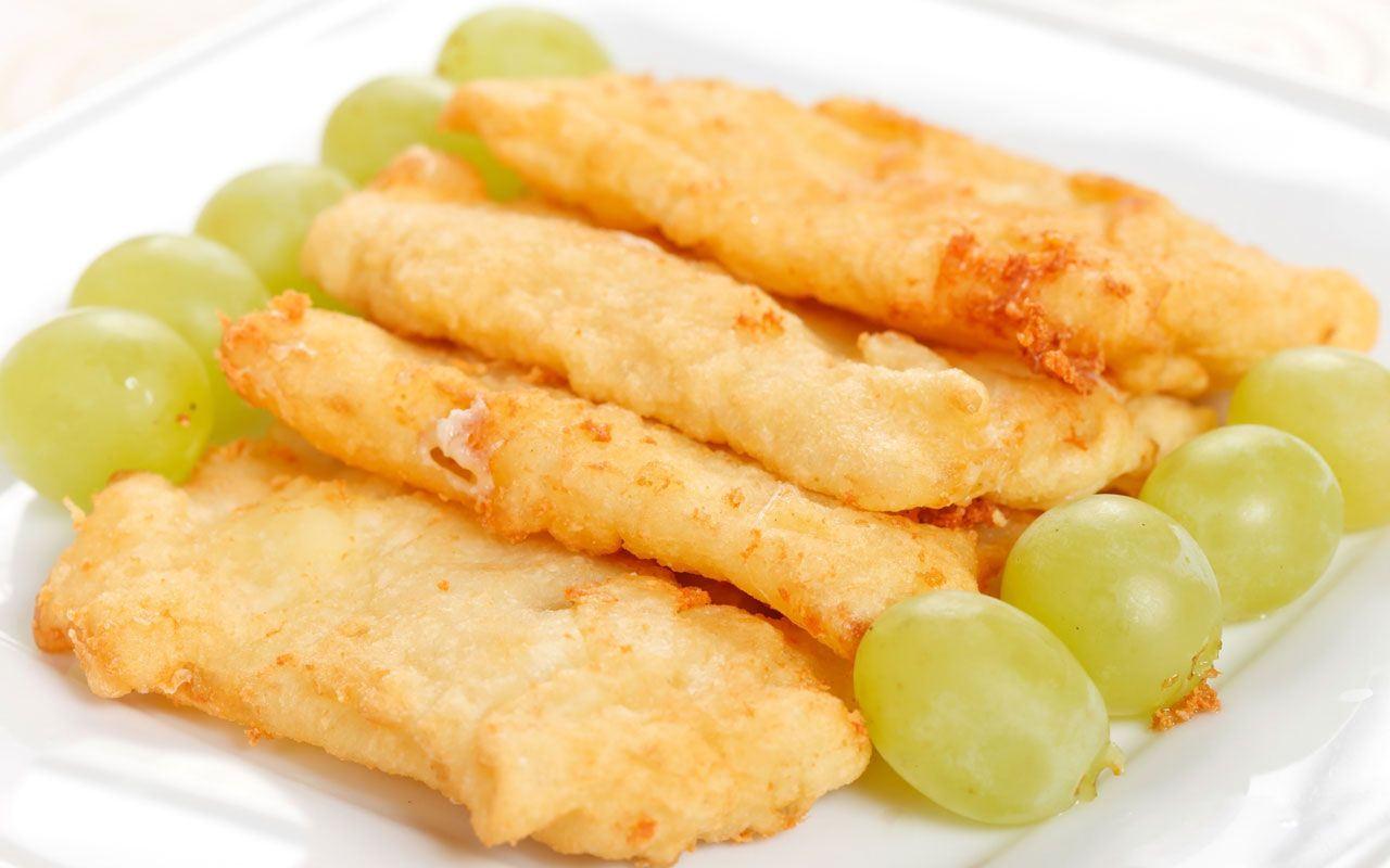 Mozzarella in carrozza impanate