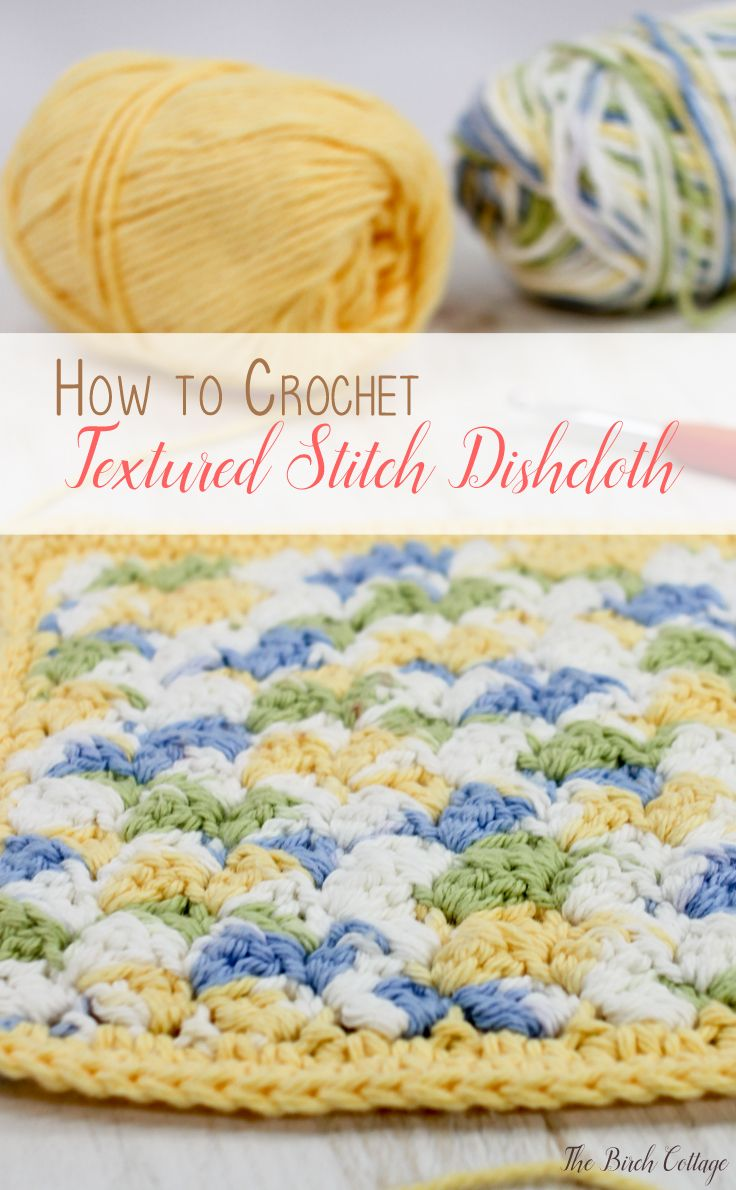 FREE Quick, Cute Crochet Dishcloth Patterns   Trapillo
