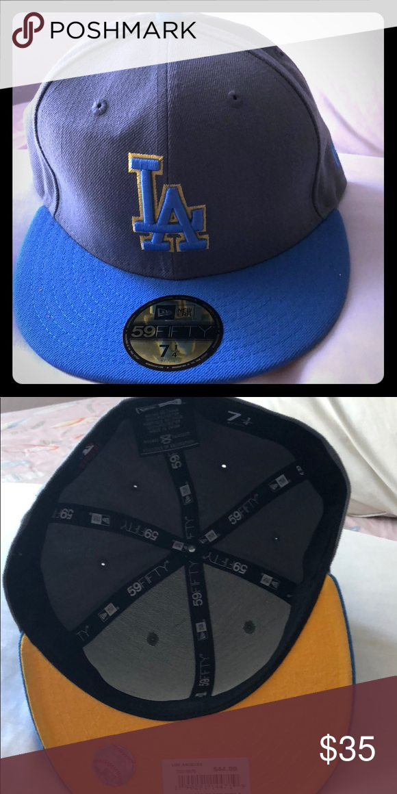 20a40ed60 Dodgers/UCLA hat Fitted UCLA colors LA Dodgers Hat New Era Accessories Hats