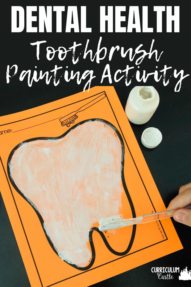 Dental Health Art Activity Tooth Preschool Dental Health Crafts Healthy Habits Preschool [ 1102 x 735 Pixel ]