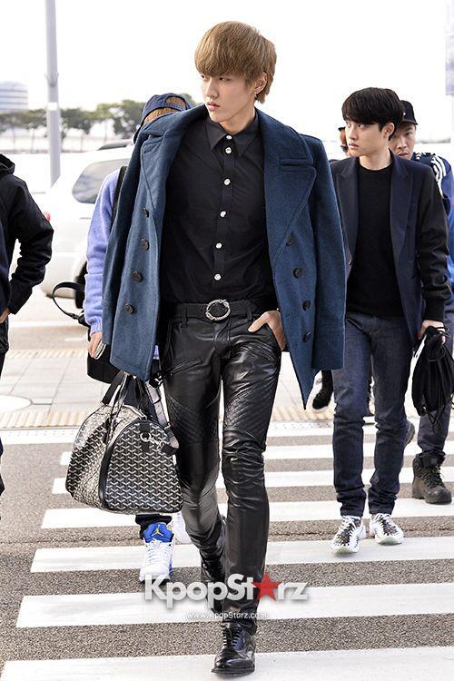 Kris ♡ // Airport Fashion | K-IDOLS AIRPORT FASHION | EXO ...