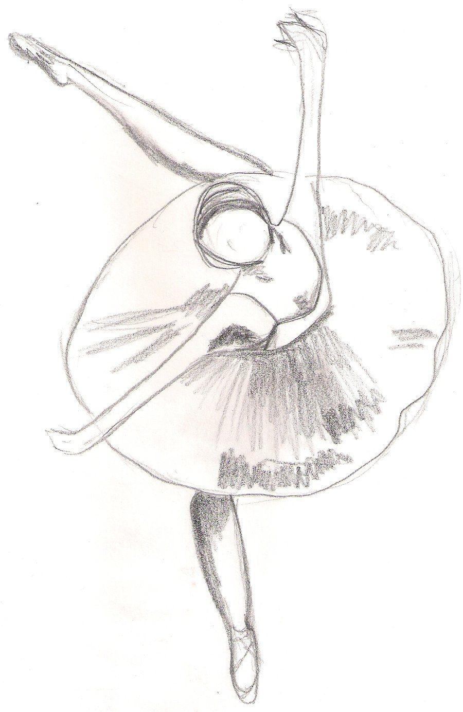 Uncategorized Drawing Of Ballerina ballerina sketch draw pinterest sketch