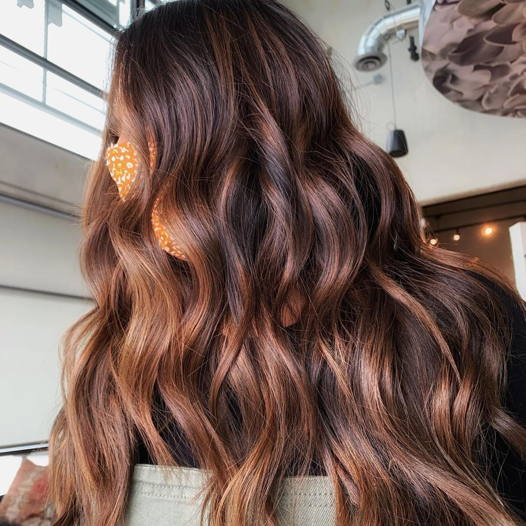 20 Most Popular Brunette Balayage Hair Colors