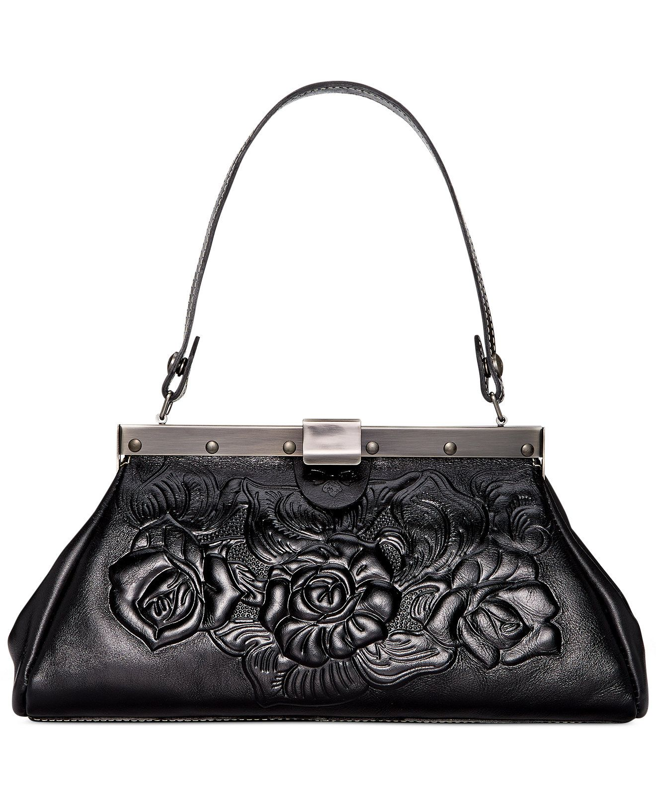 Patricia Nash Tooled Rose Ferrara Satchel - Patricia Nash - Handbags & Accessories - Macy's