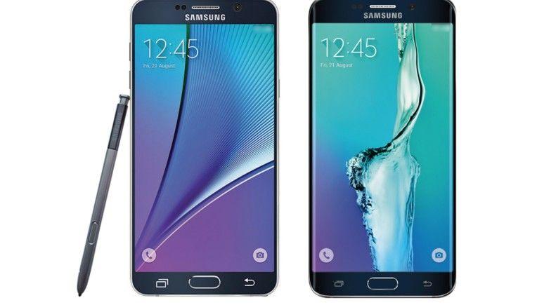 Galaxy Note 5 & S6 Edge+: So sehen die neuen Samsung-Modelle aus
