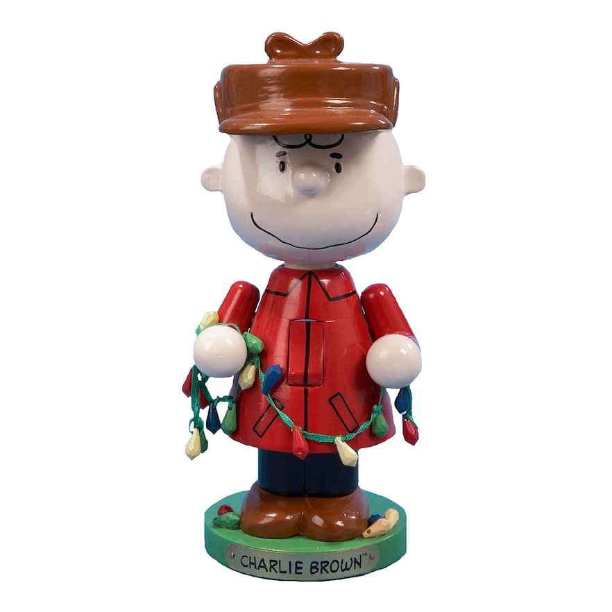 Kurt Adler 10-in. Peanuts Charlie Brown Christmas Nutcracker, Red ...