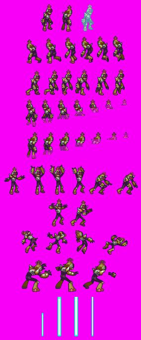 Sprites Inc The Megaman Sprite Rip Archive Sprite Math Ripped