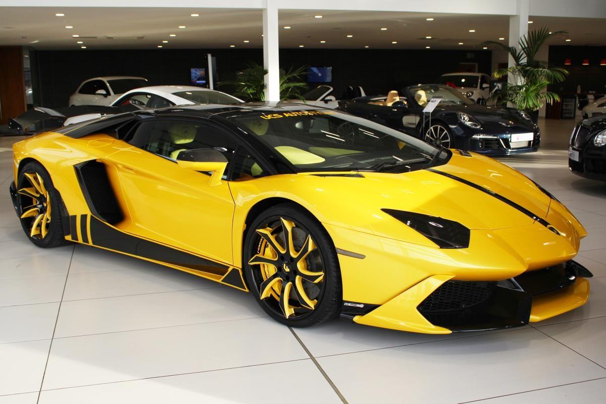 Custom Lamborghini Aventador From Mooning Incident For Sale