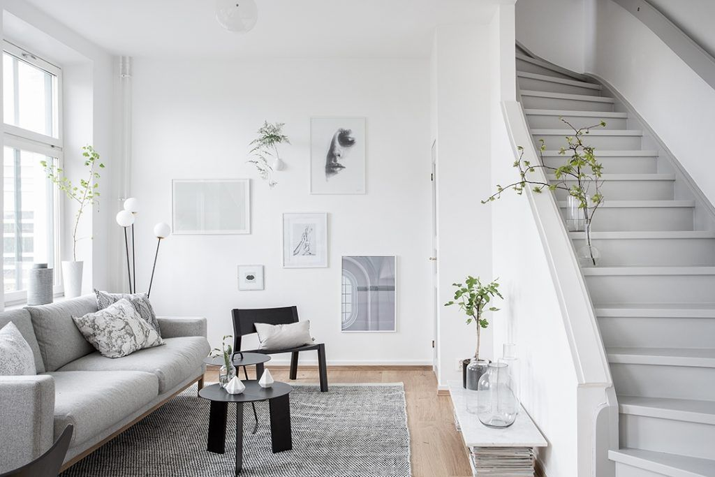 White and Grey apartment