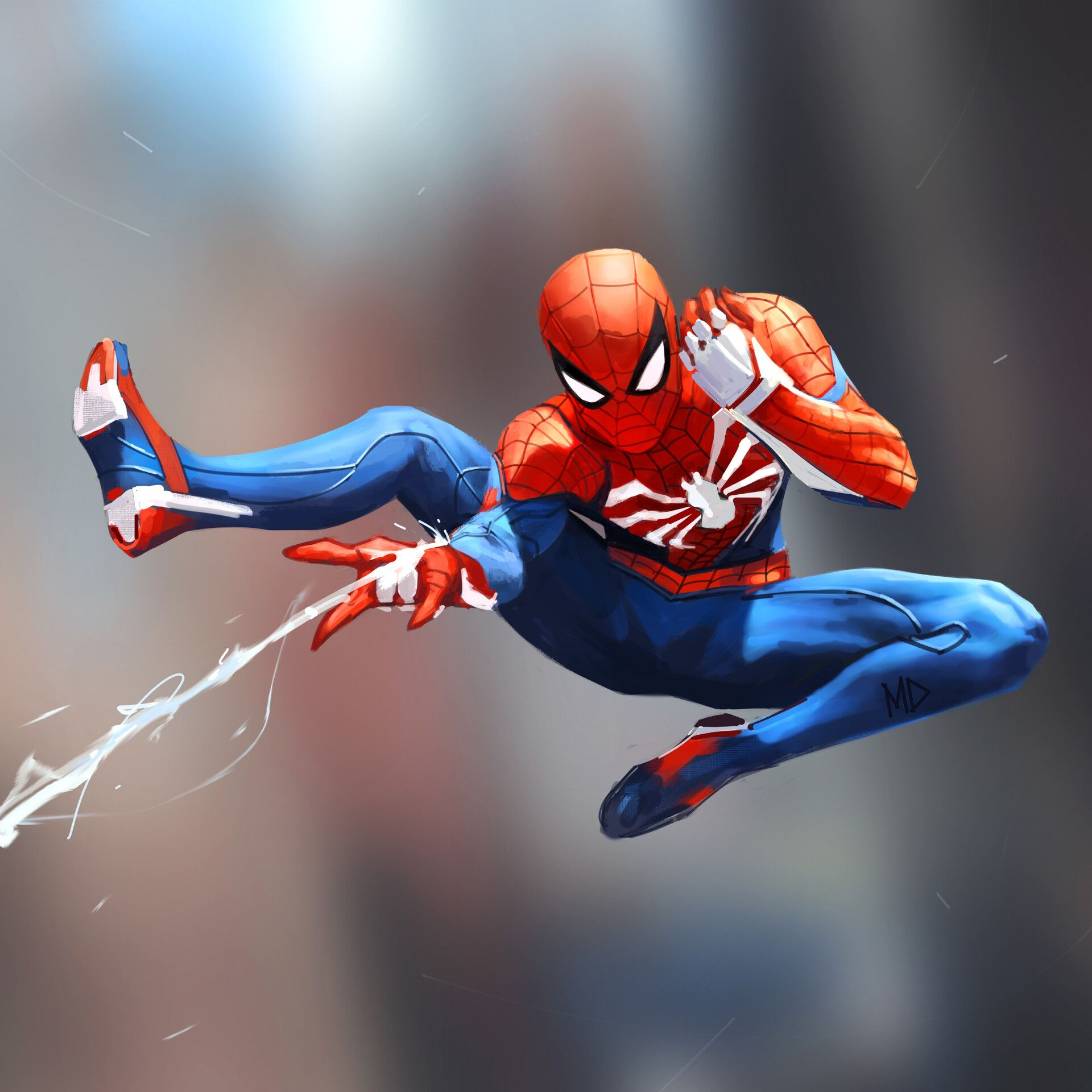 Webbin' Time by Milen Dimitrov Spiderman, Spider