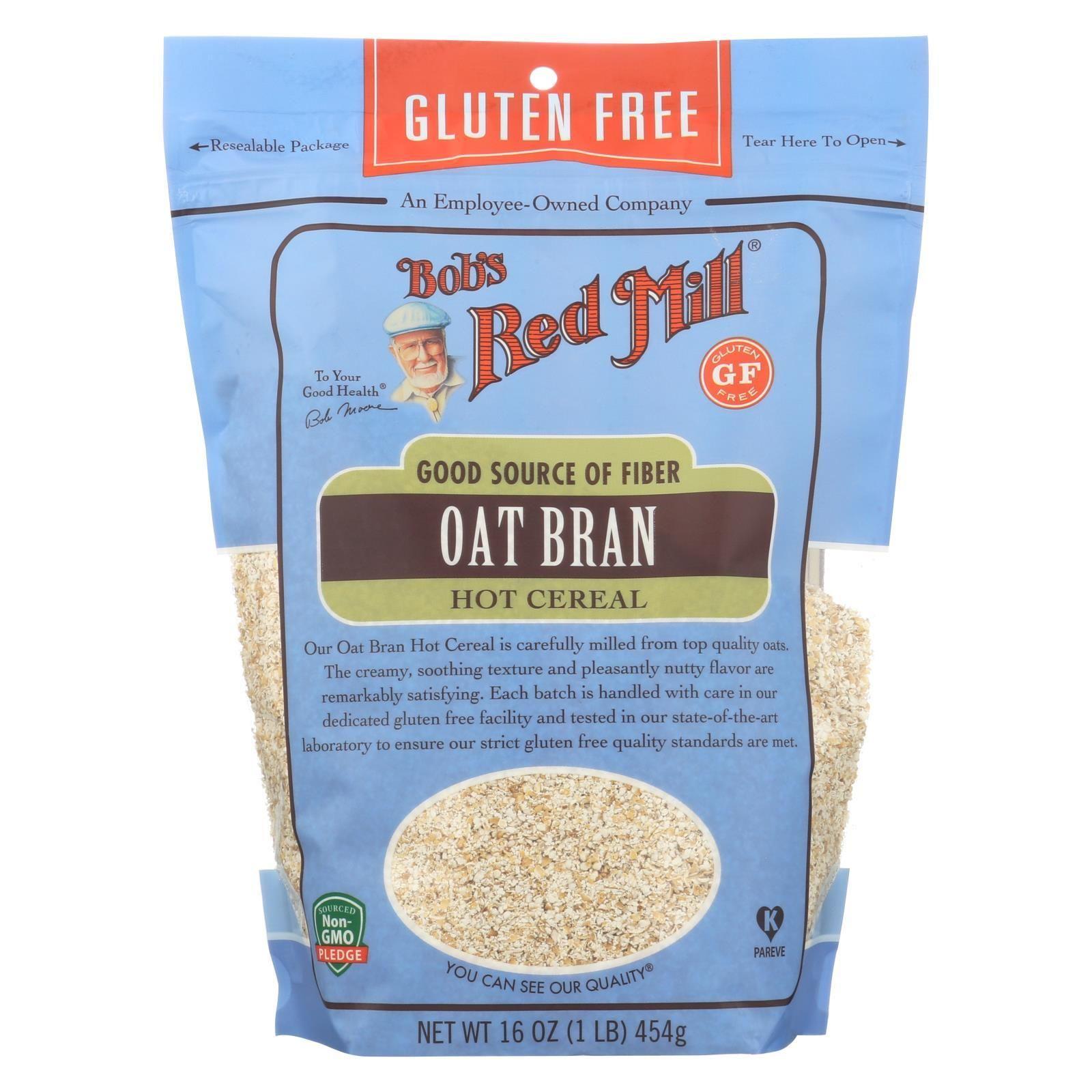 Bobs red mill oat bran gluten free case of 416 oz