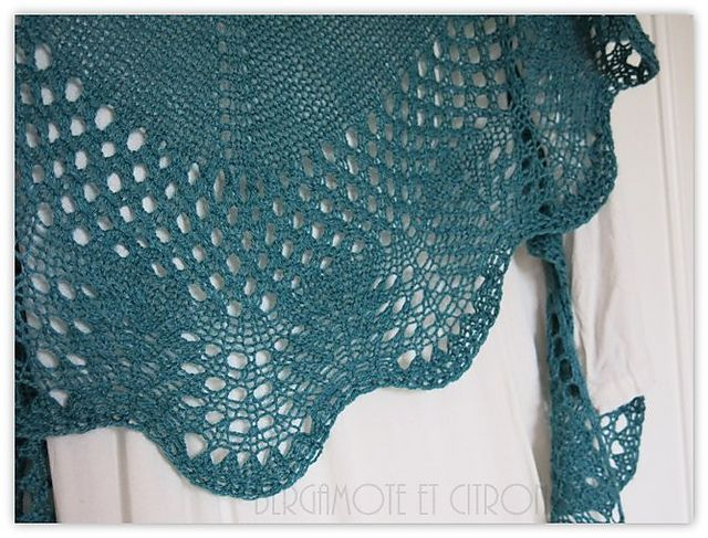 Ravelry: Bergamote-Citron's Sur la vague
