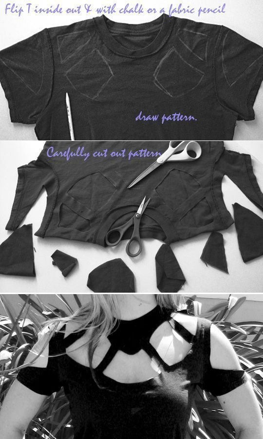 40 Simple No Sew DIY Clothing Hacks, Designs And Ideas -   10 DIY Clothes Reconstruction awesome ideas