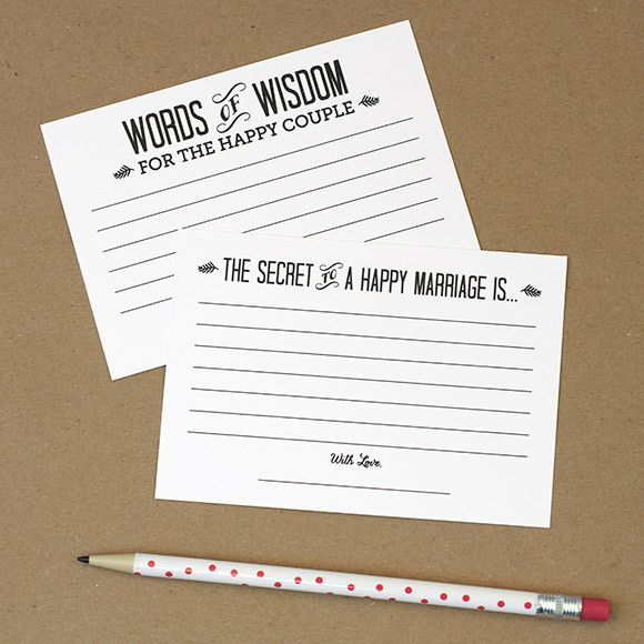 Words Of Wisdom Cards Pdf  Printable To Download  Love Vs Design