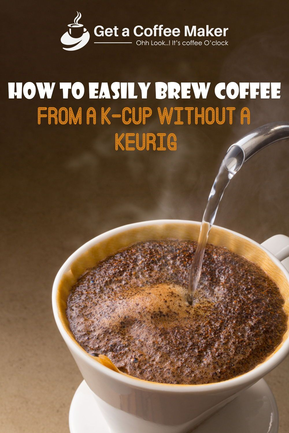 How Much Coffee Is In Ak Cup >> How To Easily Brew Coffee From A K Cup Without A Keurig How To