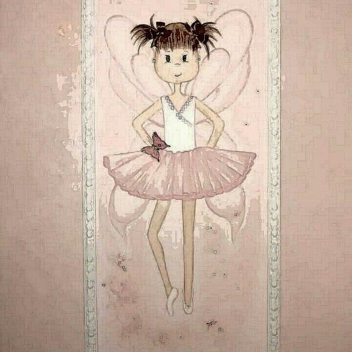 Girl's room DIANA DE LOS RIOS  Artista Muralista  PERU