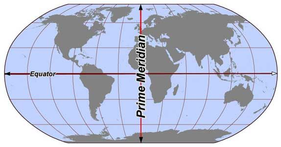 Equator map answer these questions about the equator and the equator map answer these questions about the equator and the prime meridian sciox Choice Image