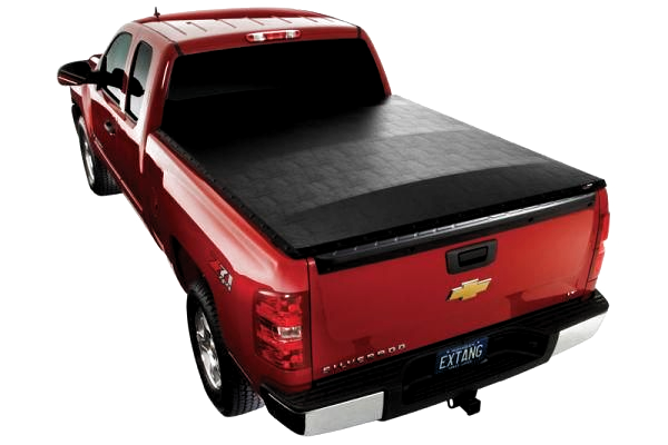 Extangs Trifecta Tri Fold Tonneau Has An Easy To Use Folding Design Smooth Sleek Looks And Unmatched Durability It In 2020 Tonneau Cover Bed Covers Truck Bed Covers