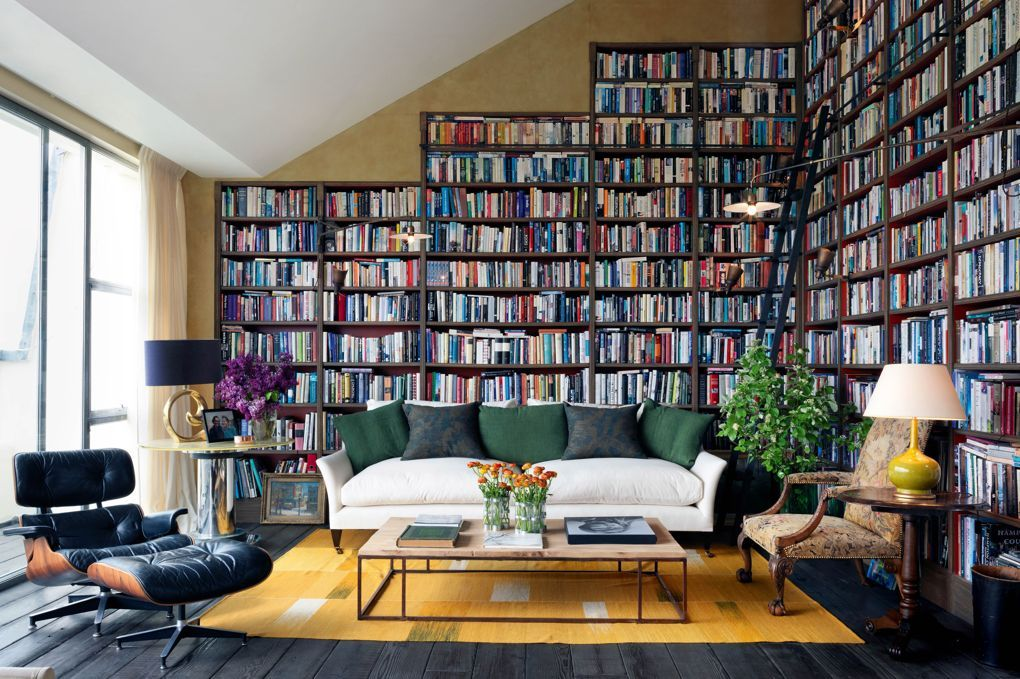 Perfect contemporary library