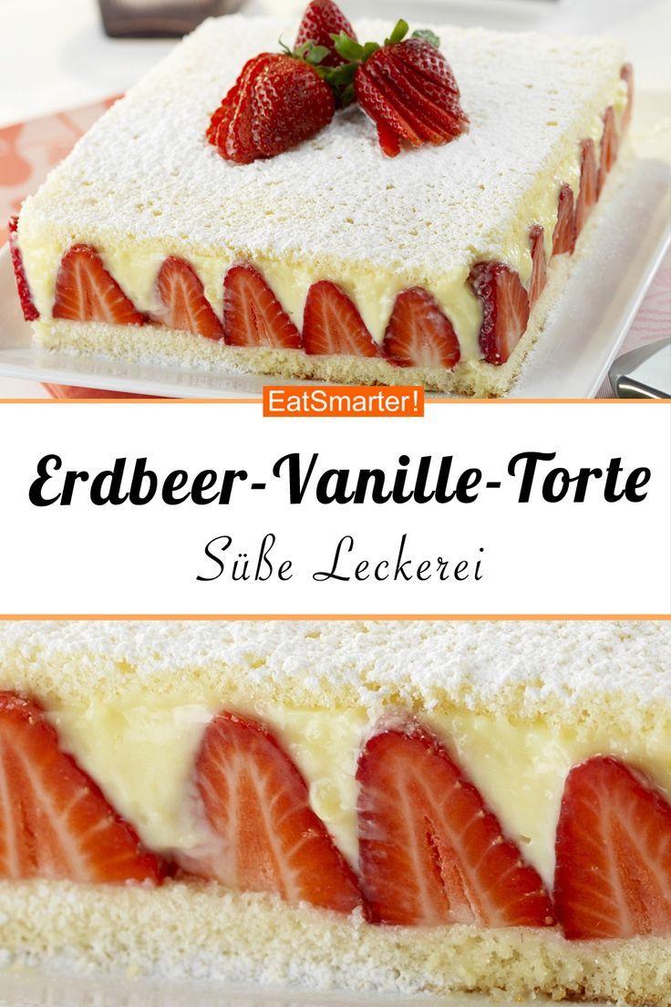 Photo of Erdbeer-Vanille-Torte