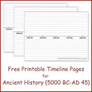free printable timeline notebook pages high school global studies
