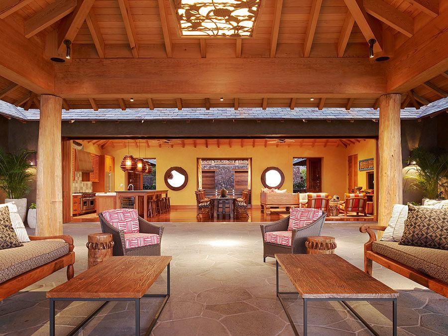 Lighting And Ceiling Island Retreat   Work   Philpotts Interiors   Hawaii  Interior Design Firm  