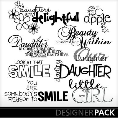 Daughte Family Pinterest Scrapbook Word Art And Words