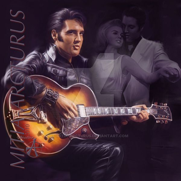 Elvis-Only You by Mitia-Arcturus