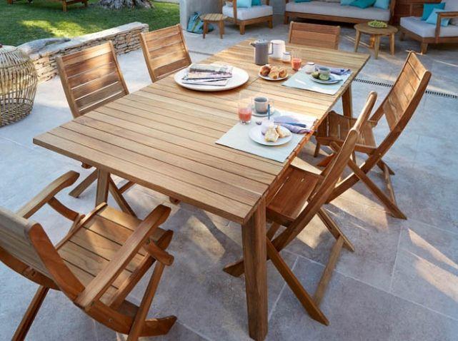 La Collection Jardin 2016 Castorama Idee Amenagement Jardin Table De Jardin Bois Et Jardins