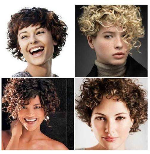 peinados pelo rizado le dan un aspecto original y de moderno a la de la with peinado pelo corto rizado