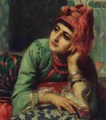 Artiste/Peintre Saint Pierre   Une Tlemçennienne Algerie.Algeria