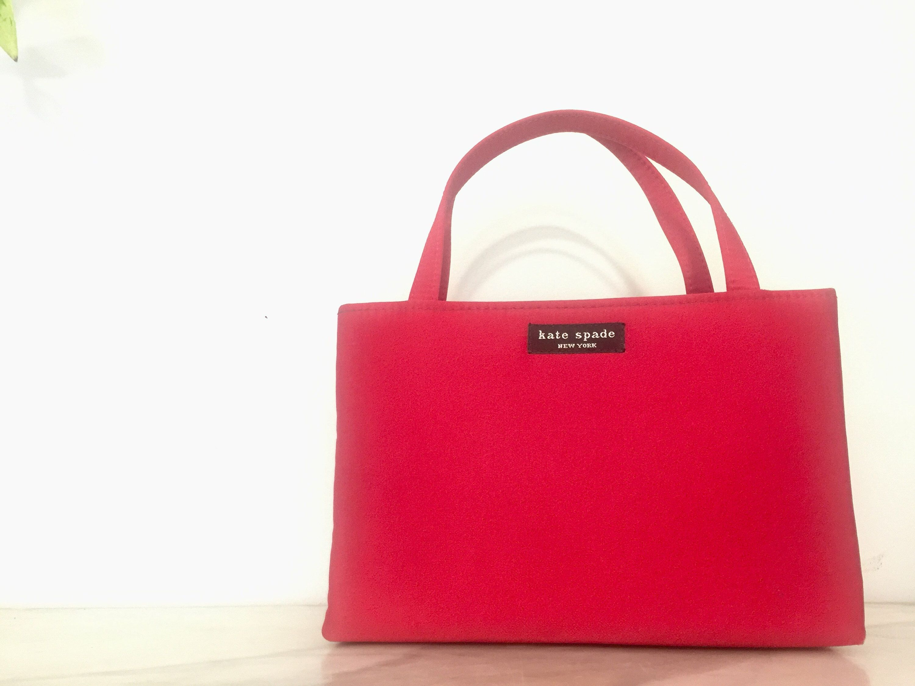 Excited To Share The Latest Addition My Etsy Kate Spade Red Satin