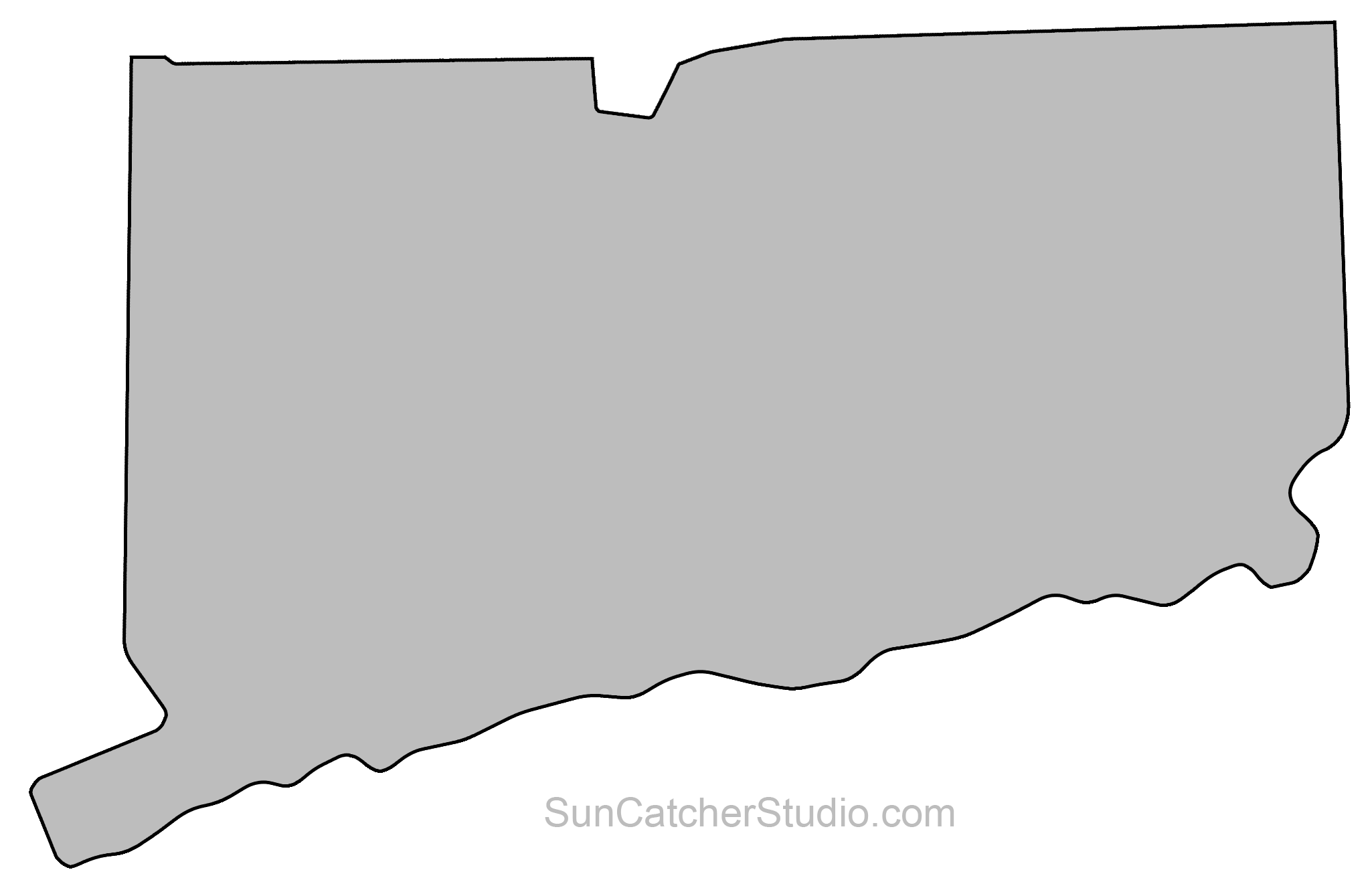 Connecticut - Map Outline, Printable State, Shape, Stencil ... on color map of connecticut, show map of connecticut, map showing cities in connecticut, political map of connecticut, us state map of connecticut, topographical map of connecticut, high resolution outline of connecticut, blank map massachusetts, outline map of connecticut, detailed map connecticut, blank global map, physical map of connecticut, geological map of connecticut, blank map ohio, blank map new jersey, blank map california, relief map of connecticut, atlas map of connecticut, clear map of connecticut, blank map maine,