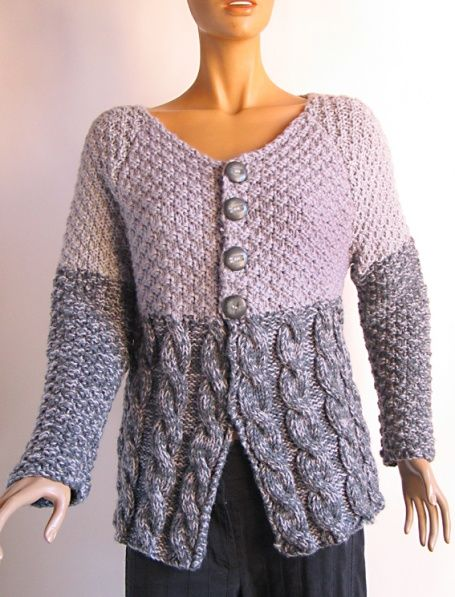 gilet veste femme tricot fait main 36 kotott bluzok pinterest tricot and crochet. Black Bedroom Furniture Sets. Home Design Ideas
