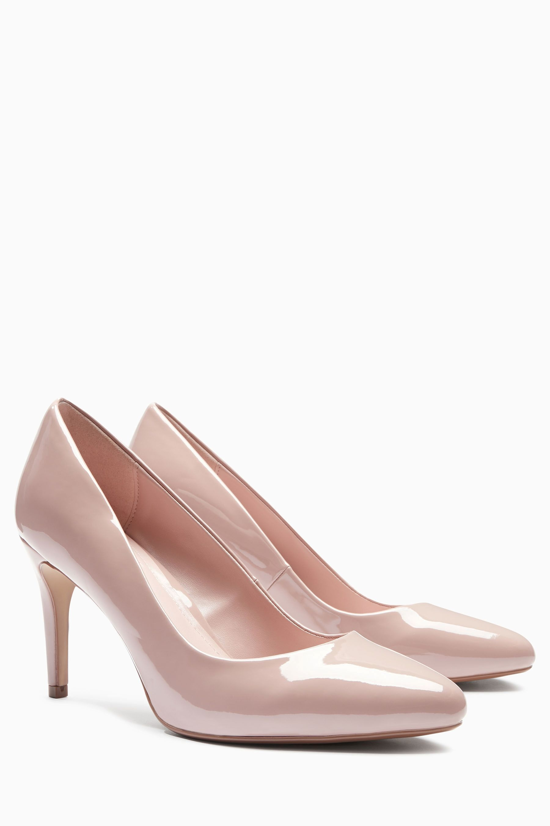 d654d160e4 Buy Nude Almond Toe Court Shoes from the Next UK online shop ...