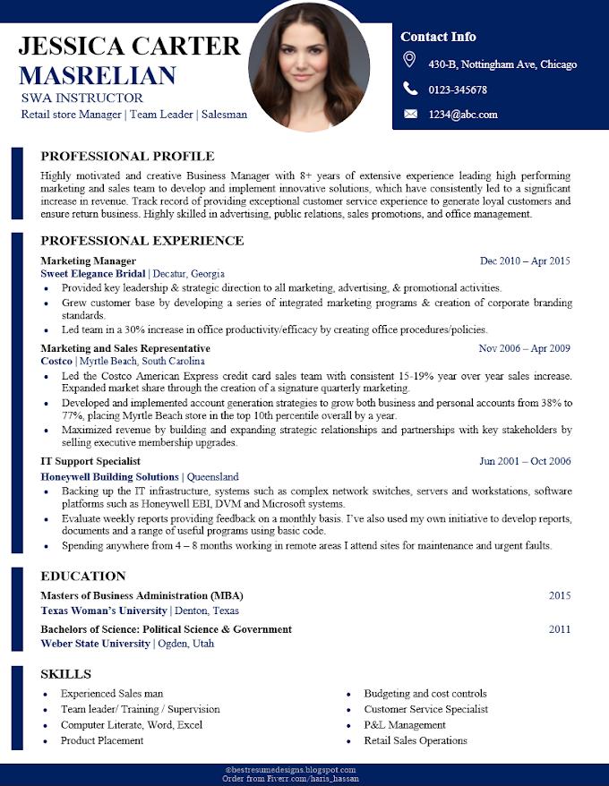 Best Resume Design No 44 Resume Design Cv Design Resume