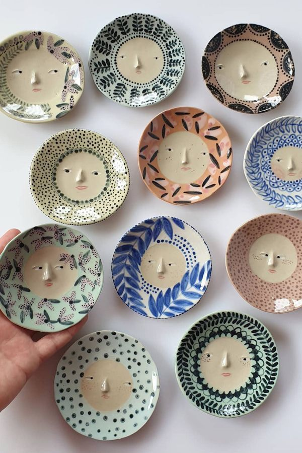 Personality-Packed Plates and Pots Lead the Way in The Pottery Parade #ceramicpottery