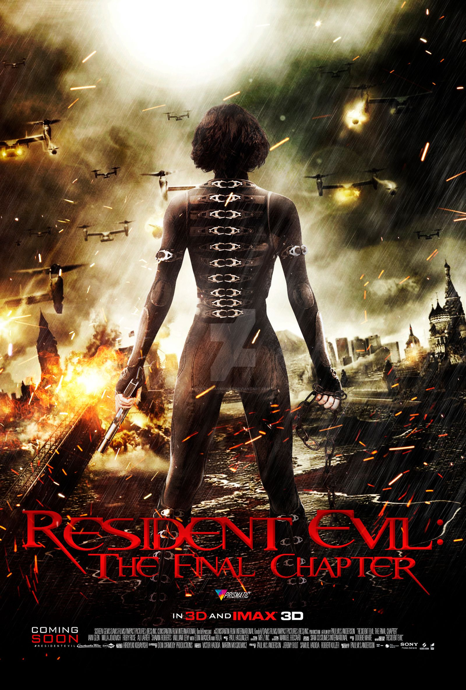 watch Resident Evil The Final Chapter Streaming Online