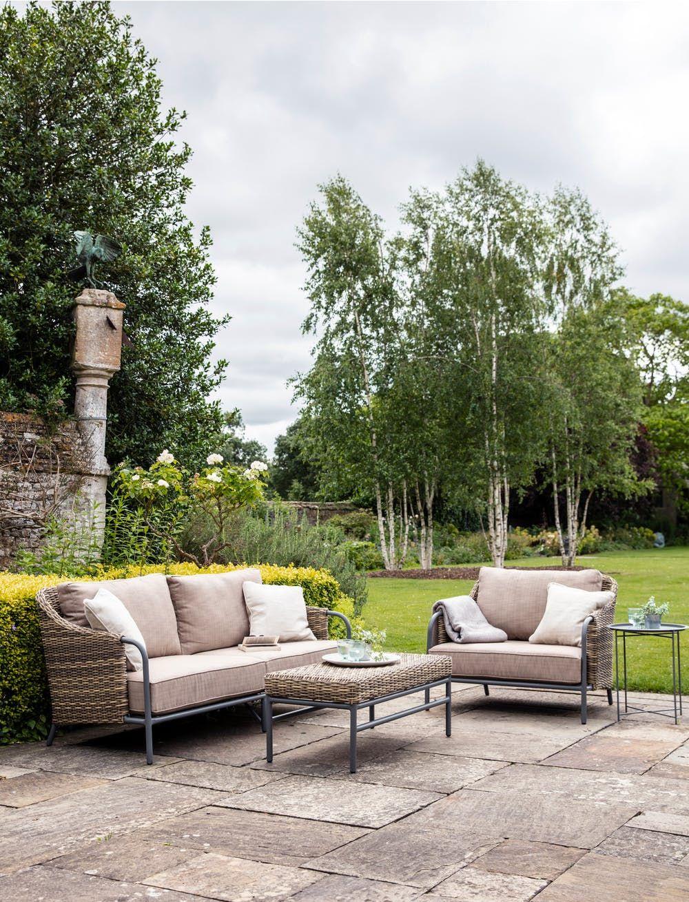 Heyshott Sofa Set  Outdoor sofa sets, Garden sofa, Best outdoor