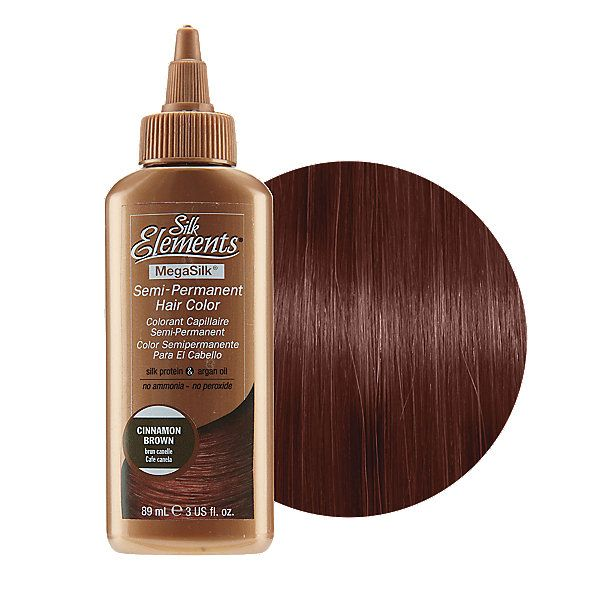 Cinnamon Brown Semi Permanent Hair Color Semi Permanent Hair Color