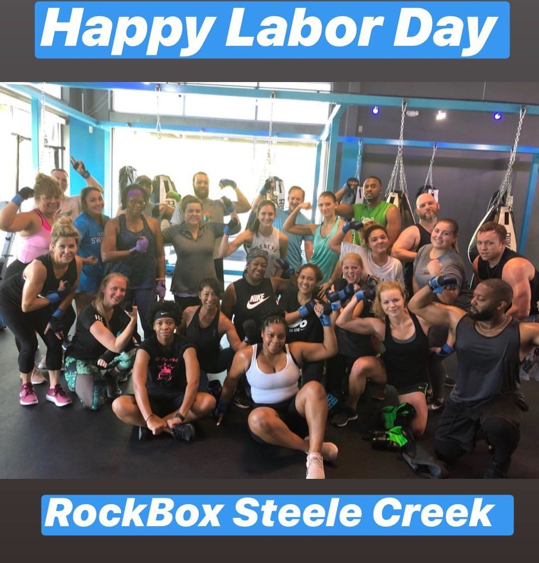 Happy Labor Day From Rockbox Steele Creek Family Stay Safe And Enjoy Your Loved Ones Rkbxfitness Steelecreek Rockbox Fitness Fitnessinspiration Cl Atlanta