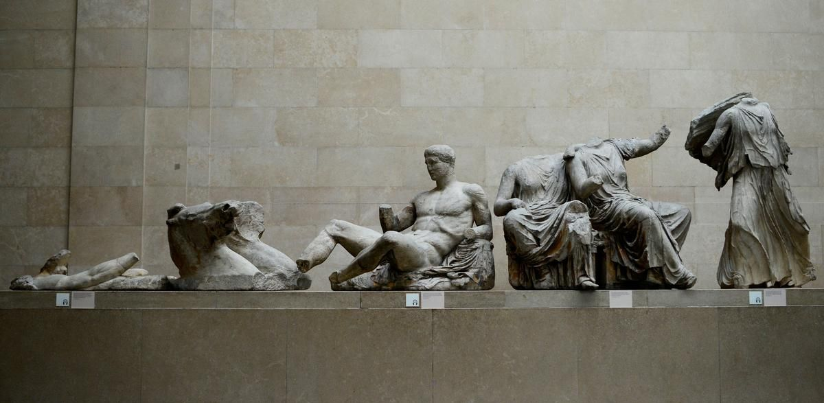 Britain S Row With Greece Over Treasures Spills Into Brexit Tensions In 2020 British Museum Statue Elgin Marbles