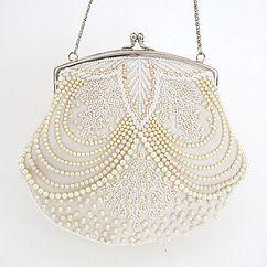 Wedding Purses & Handbags | Beaded Wedding Clutches, Evening Bags