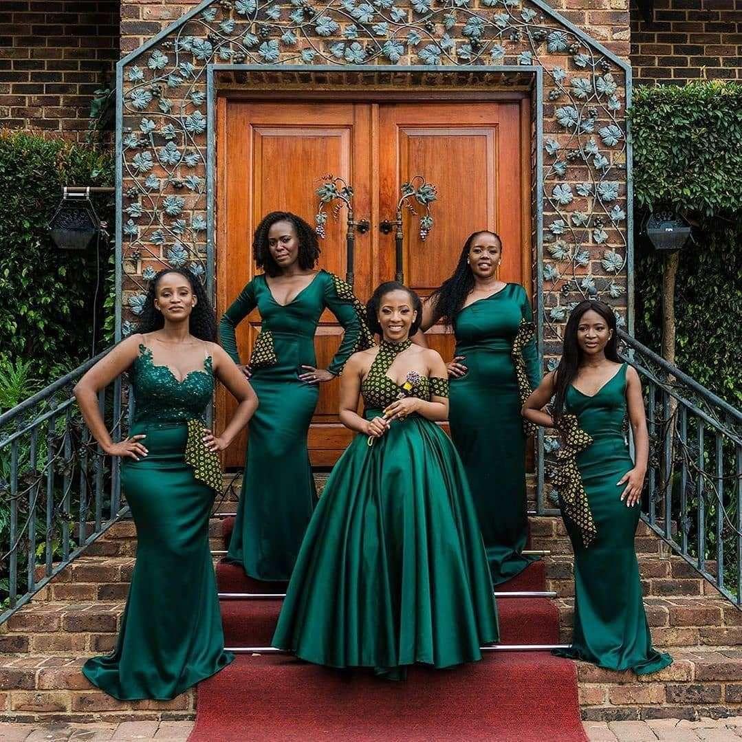 Stylish South Africa Shweshwe Dresses Fshion In 2020 in